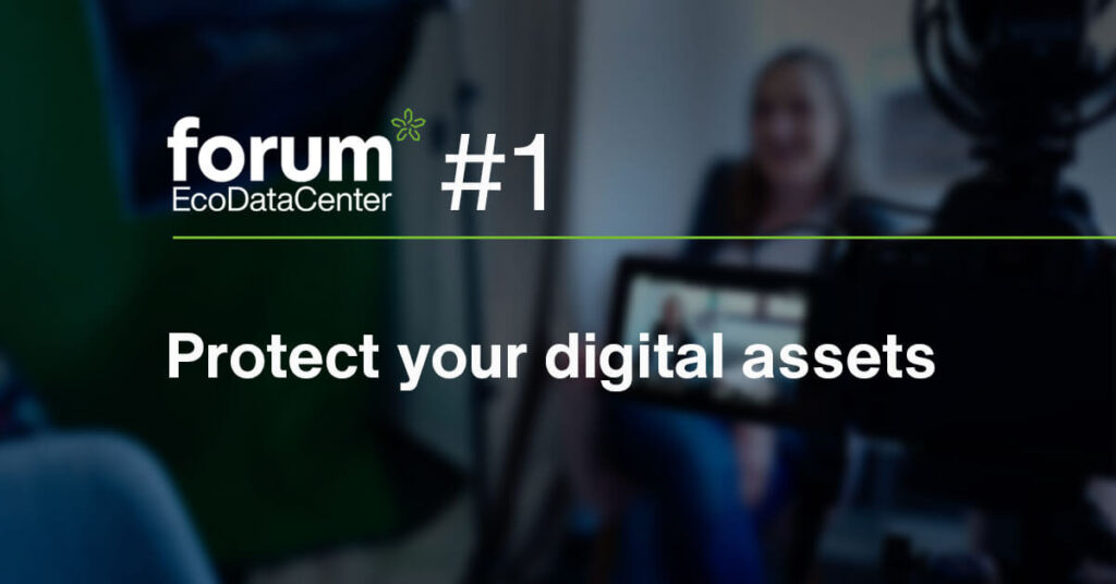 Webinar June 17th: EcoDataCenter Forum #1 Protect your digital assets